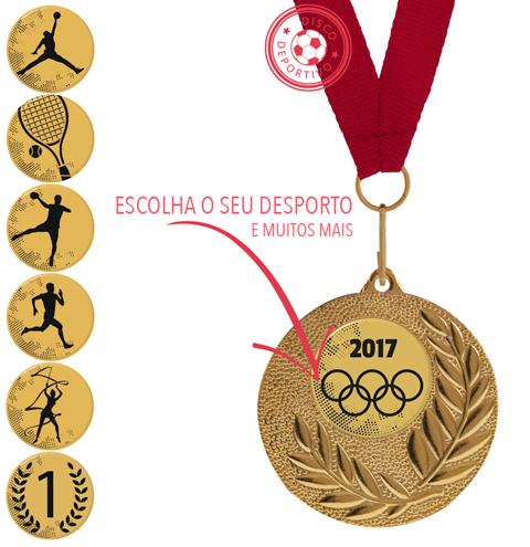 Medalha de Esporte Futebol